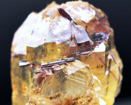 Quartz & Red Rutile - 38 grammes - Alchuri, Shigar, Gilgit-Baltistan, Pakis