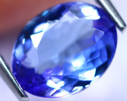 2.48cts Natural Violet Blue D Block Tanzanite / KL01