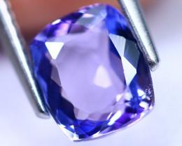 1.84cts Natural Violet Blue D Block Tanzanite / KL10