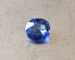 1.16ct unheated blue sapphire