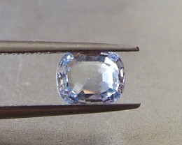 1.59ct Unheated loupe clean sapphire