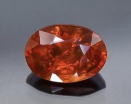 1.09 Crt Natural Spessartite Garnet Faceted Gemstone.( AB 73)