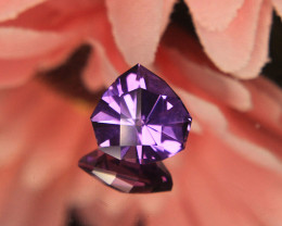 Master Cut Fancy Cut Amethyst Gemstone Cut by Master Cutter