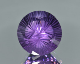 Natural Amethyst 15.03 Cts Precision Cut, Top Quality Gemstone