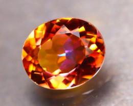 Topaz 5.50Ct Natural IF Vivid Orange Topaz DR166/A48