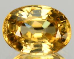 1.31  Cts Rare Yellow Zircon Natural Gemstone