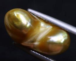 9.1 CTS KESHI FREEFORM GOLDEN PEARL LG-2312