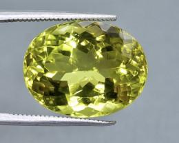 18.92 Crt Lemon Quartz Faceted Gemstone (Rk-45)