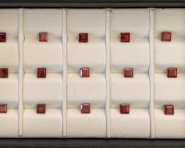 6.80 Carats Rhodolite Garnet  Gemstones Parcel