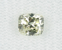 GIA certified 0.72ct Natural Light  Yellow Diamond