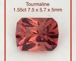 Precision Cut Pretty Red Tourmaline - Nigeria   Ref 2320