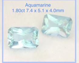 Pretty Pair of Aquamarine