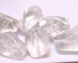 126CTS QUARTZ BEAD DRILLED (6PC)  NP-582