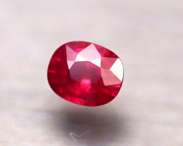 Rhodolite 1.06Ct Natural Red Rhodolite Garnet D1022/B2