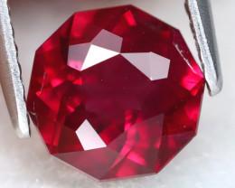 Rhodolite 1.96Ct VVS Round Cut Natural Rhodolite Garnet A0701
