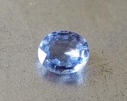 1.32ct unheated blue sapphire