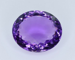 18.97 Crt Natural Amethyst Faceted Gemstone.( AB 73)
