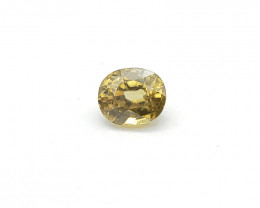 Yellow Zircon,2.15 ct