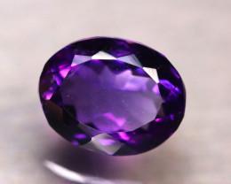 Amethyst 6.03Ct Natural Uruguay VVS Electric Purple Amethyst D1203/A2