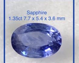 Pretty Ceylon Blue Sapphire - SRi Lanka  Ref 2301
