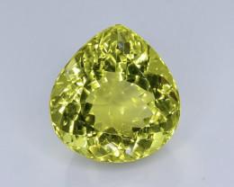 24.54 Crt  Lemon Quartz Faceted Gemstone (Rk-46)