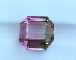 12.35 Carats Bicolor Natural Tourmaline Gemstone