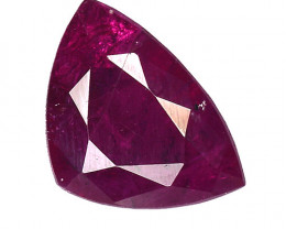1.38 CT  RUBY RED AND BEST COLOR GEMSTONE RB22