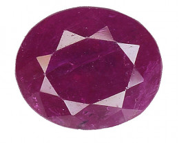 1.36 CT  RUBY RED AND BEST COLOR GEMSTONE RB32