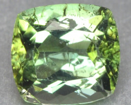 0.89 Cts Unheated Mint Green Color Natural Tourmaline Gemstone