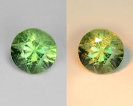 0.39 Cts Untreated Color Changing Natural Demantoid Garnet Gemstone