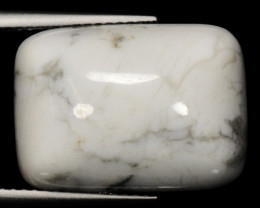 14.85 Cts Untreated Fancy White Howlite Natural Loose Gemstone