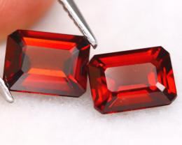 Spessartite 3.32Ct VVS Octogon Cut Natural Spessartite Garnet C0913