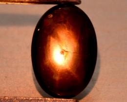 0.72 Carat Very Rare Black Star Cats Eye Gemstone