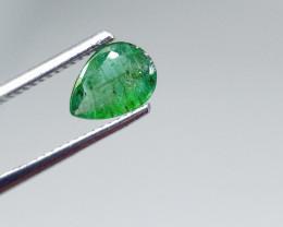 1.00cts  Zambian Emerald , 100% Natural Gemstone