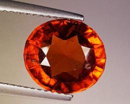 4.85 ct Excellent Gem Oval Cut Top Luster Hessonite Garnet