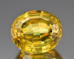 Natural Sphene/Titanite 17.28 Cts Precision Cut Gemstone