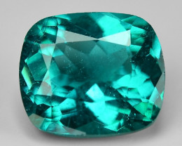 2.59 Cts Un Heated Natural Green Apatite Loose Gemstone