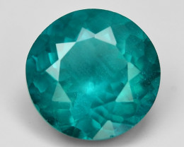 4.02 Cts Un Heated Natural Green Apatite Loose Gemstone