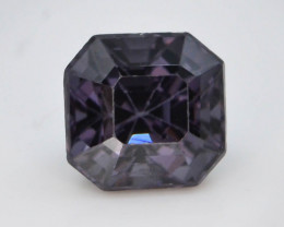 Top Cut 1.35 CT Natural Purple Color Spinel From Mogok
