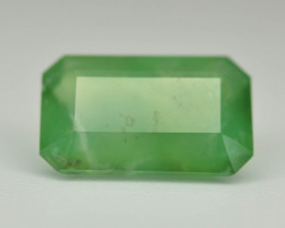 Peruvian Green Opal 1.63ct AAA Rare Untreated/Unheated