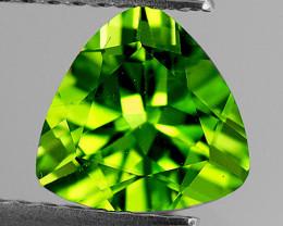 8.00 mm Trillion 1.71cts Green Peridot [VVS]