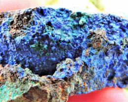30.38g LINARITE SPECIMEN ELECTRIC BLUE KING ARTHUR MINE THRACE GREECE