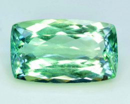 NR - 20.00 Carats Amazing Green Spodumene Gemstone