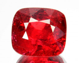2.07 Cts Beautiful Natural Vivid Red Spinel Cushion Srilanka