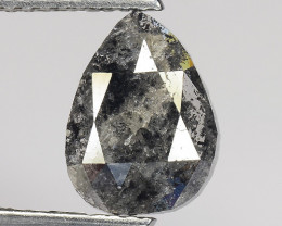 1.70 CT DIAMOND ROSE CUT BROWN COLOR GEMSTONE DR2