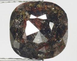 2.75 CT DIAMOND ROSE CUT BROWN COLOR GEMSTONE DR28