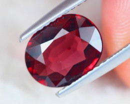 2.24ct Natural Rhodolite Garnet Oval Cut Lot GW7682