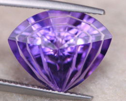 5.68ct Natural Purple Amethyst Fancy Cut Lot GW