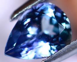 1.26cts Violet Blue D Block Tanzanite / KL16