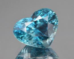 Natural Blue Zircon 19.81 Cts Best Quality Gemstone